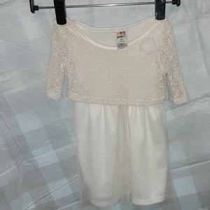 Healthtex  white dress size 18 months